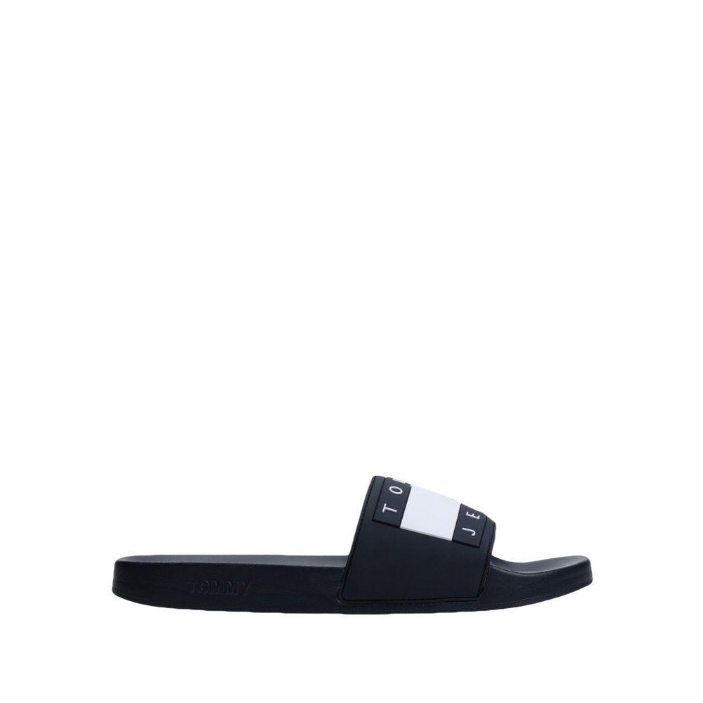 トミー ジーンズ TOMMY JEANS メンズ サンダル シューズ・靴【flag pool slide sandals】Dark blue