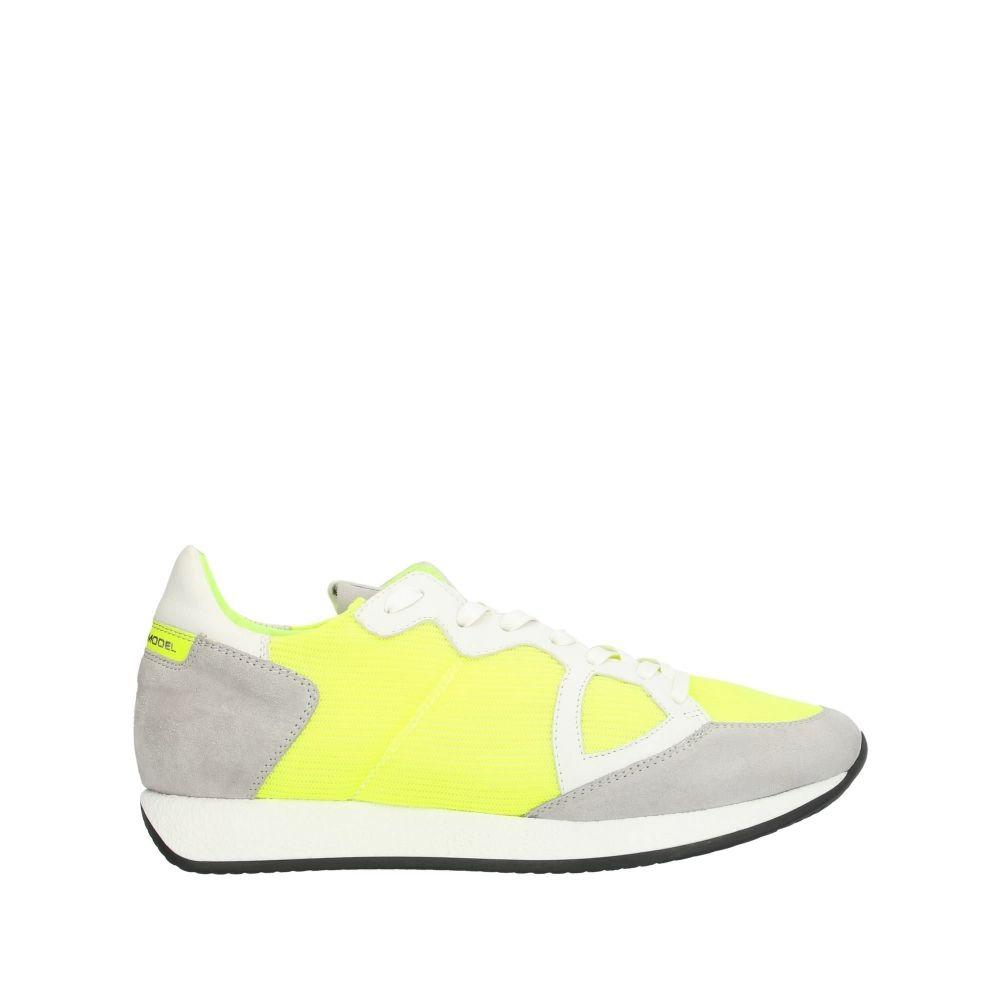 フィリップモデル PHILIPPE MODEL メンズ スニーカー シューズ・靴【sneakers】Yellow