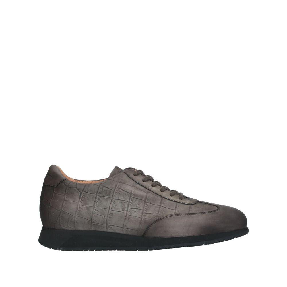 サントーニ SANTONI メンズ スニーカー シューズ・靴【sneakers】Steel grey