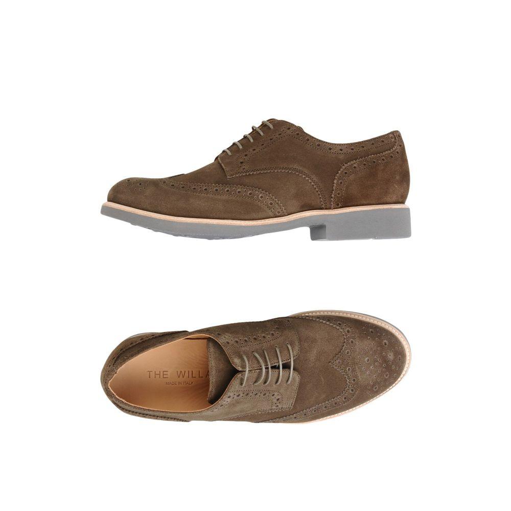 ウィラ THE WILLA メンズ シューズ・靴 【laced shoes】Beige