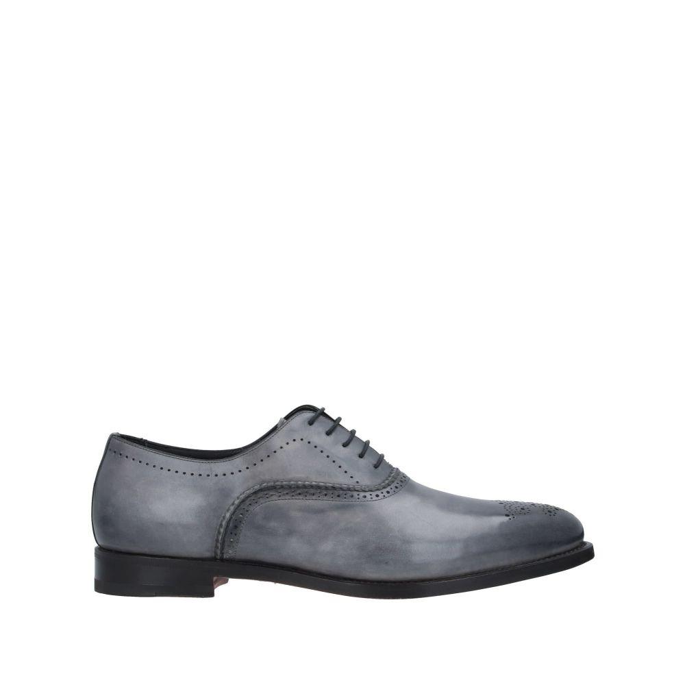 サントーニ SANTONI メンズ シューズ・靴 【laced shoes】Grey