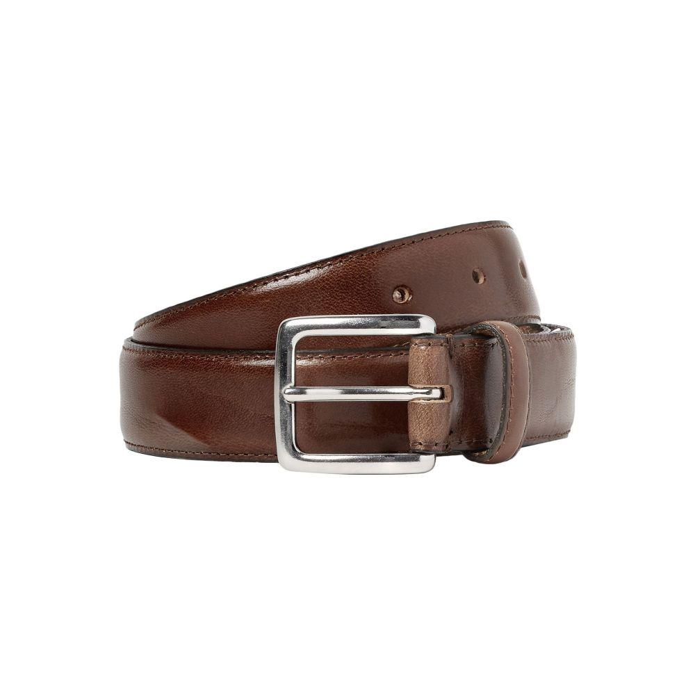 ジェイクルー J.CREW メンズ ベルト 【leather belt】Brown