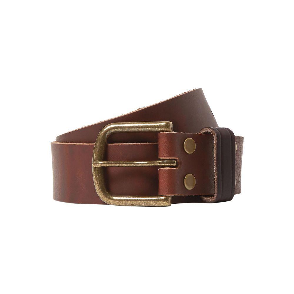 ジーンショップ JEAN SHOP メンズ ベルト 【leather belt】Brown