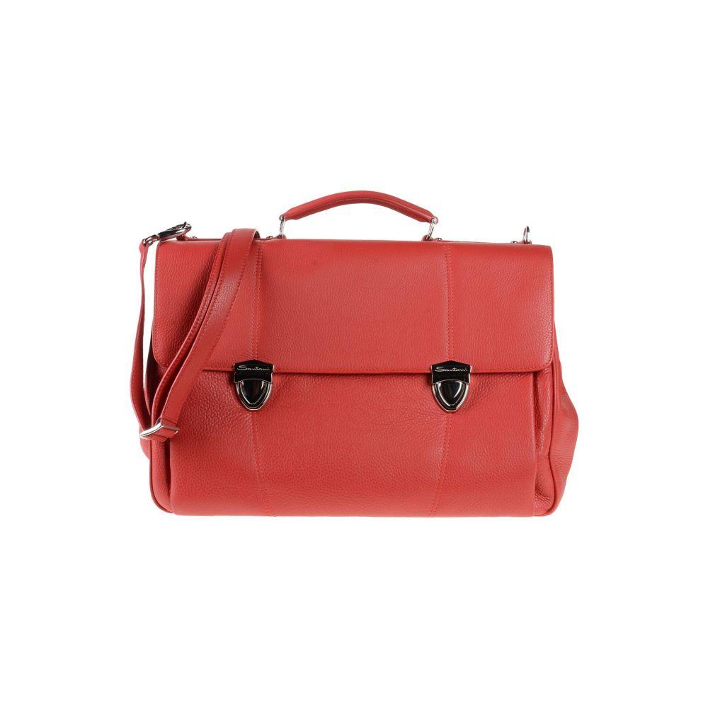 サントーニ SANTONI メンズ バッグ 【work bag】Red