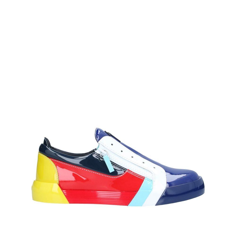 ジュゼッペ ザノッティ GIUSEPPE ZANOTTI メンズ スニーカー シューズ・靴【sneakers】Blue