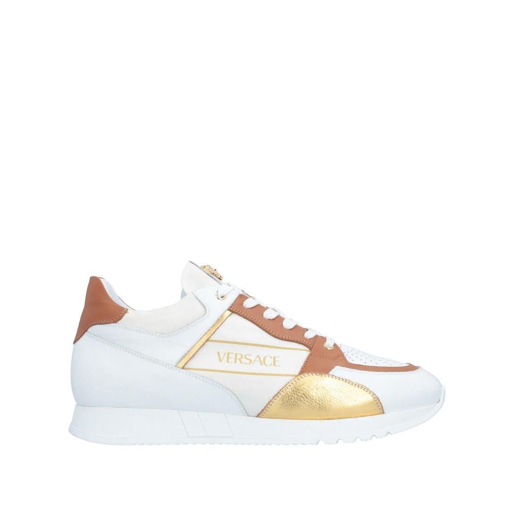 ヴェルサーチ VERSACE メンズ スニーカー シューズ・靴【sneakers】White