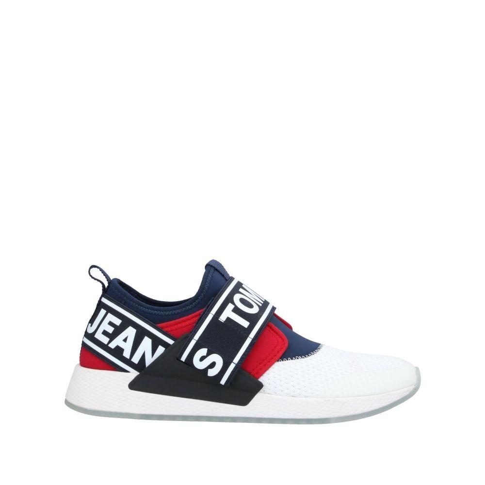 トミー ジーンズ TOMMY JEANS メンズ スニーカー シューズ・靴【sneakers】White