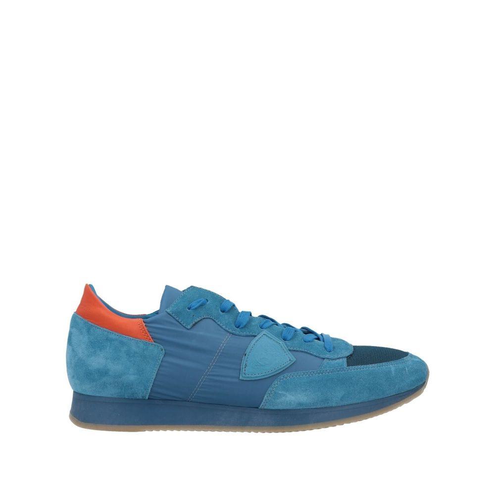 フィリップモデル PHILIPPE MODEL メンズ スニーカー シューズ・靴【sneakers】Pastel blue
