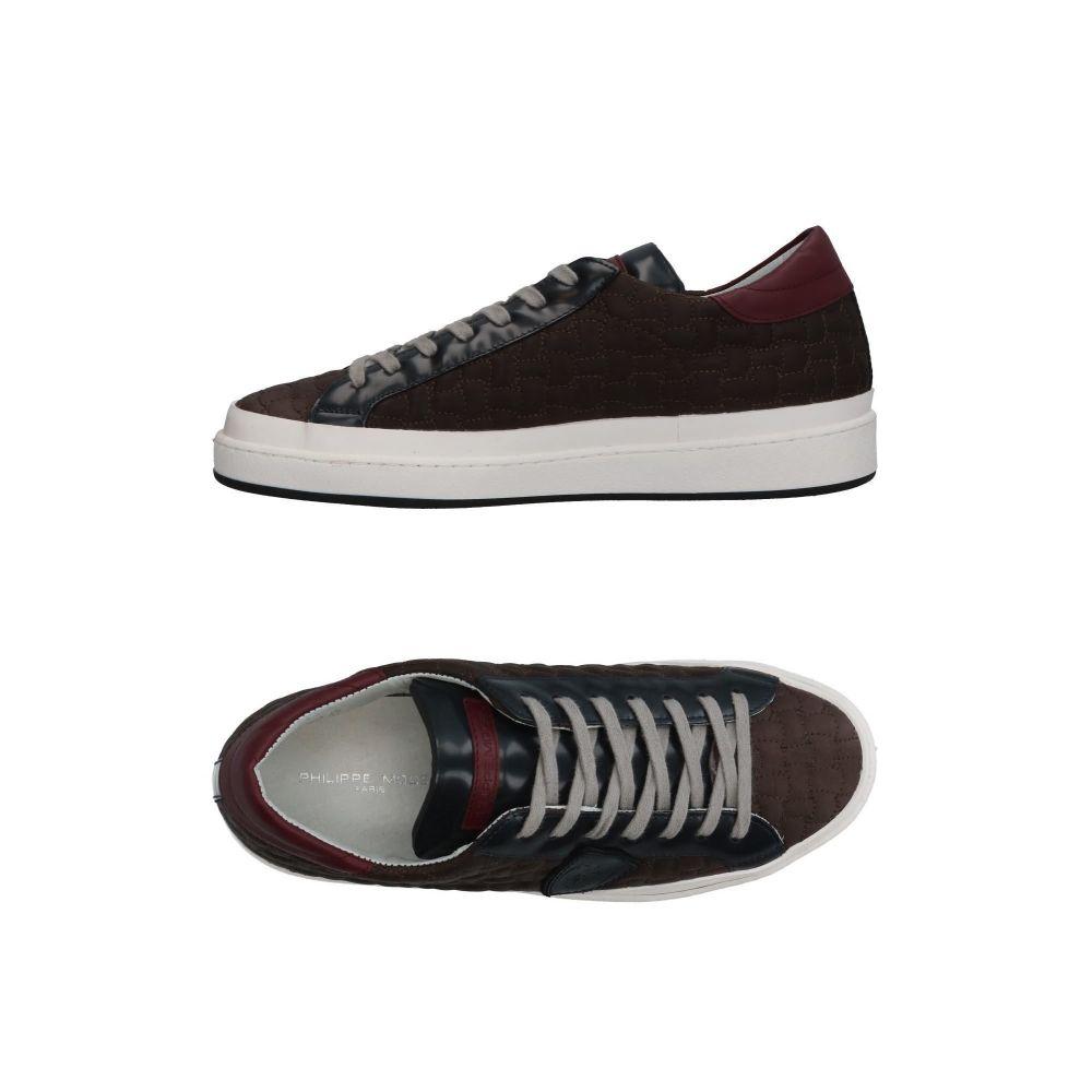 フィリップモデル PHILIPPE MODEL メンズ スニーカー シューズ・靴【sneakers】Dark brown