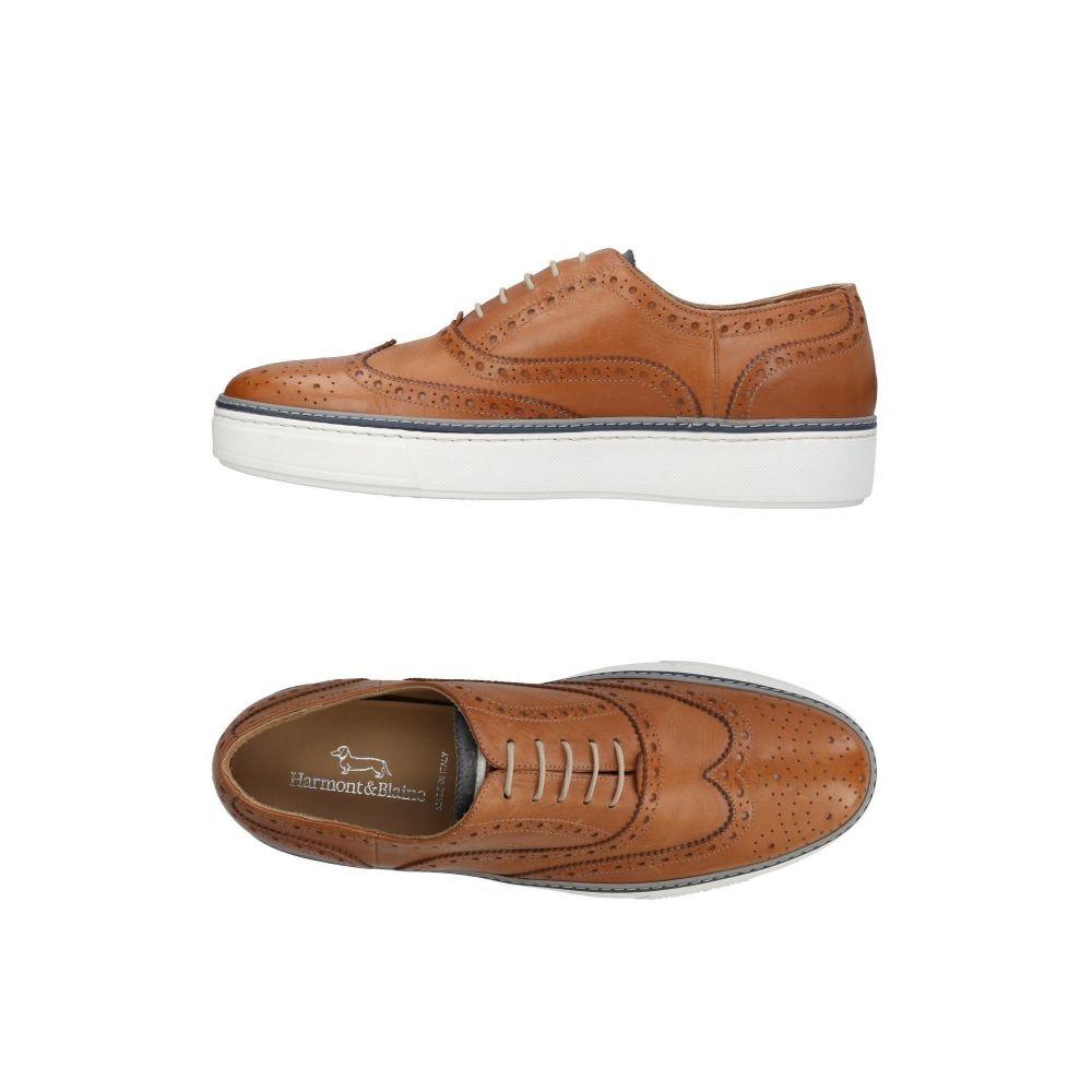 ハーモント アンド ブレイン HARMONT&BLAINE メンズ シューズ・靴 【laced shoes】Brown