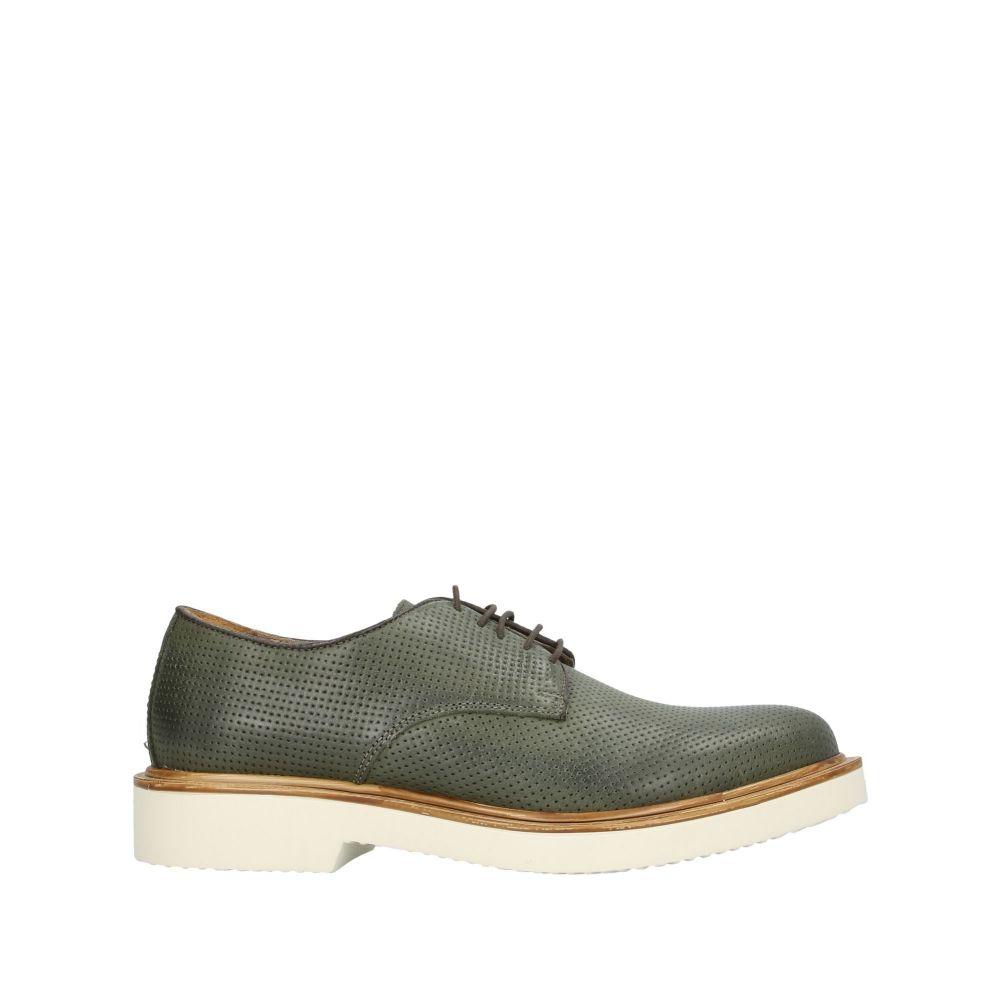 アンティーカ クオイエリア ANTICA CUOIERIA メンズ シューズ・靴 【laced shoes】Military green