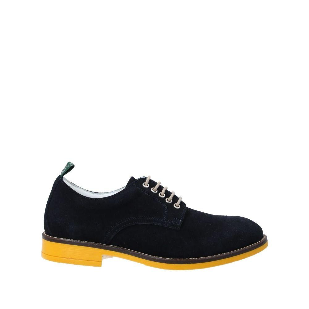 ダブルス 4 ユー DOUBLES 4 YOU メンズ シューズ・靴 【laced shoes】Dark blue