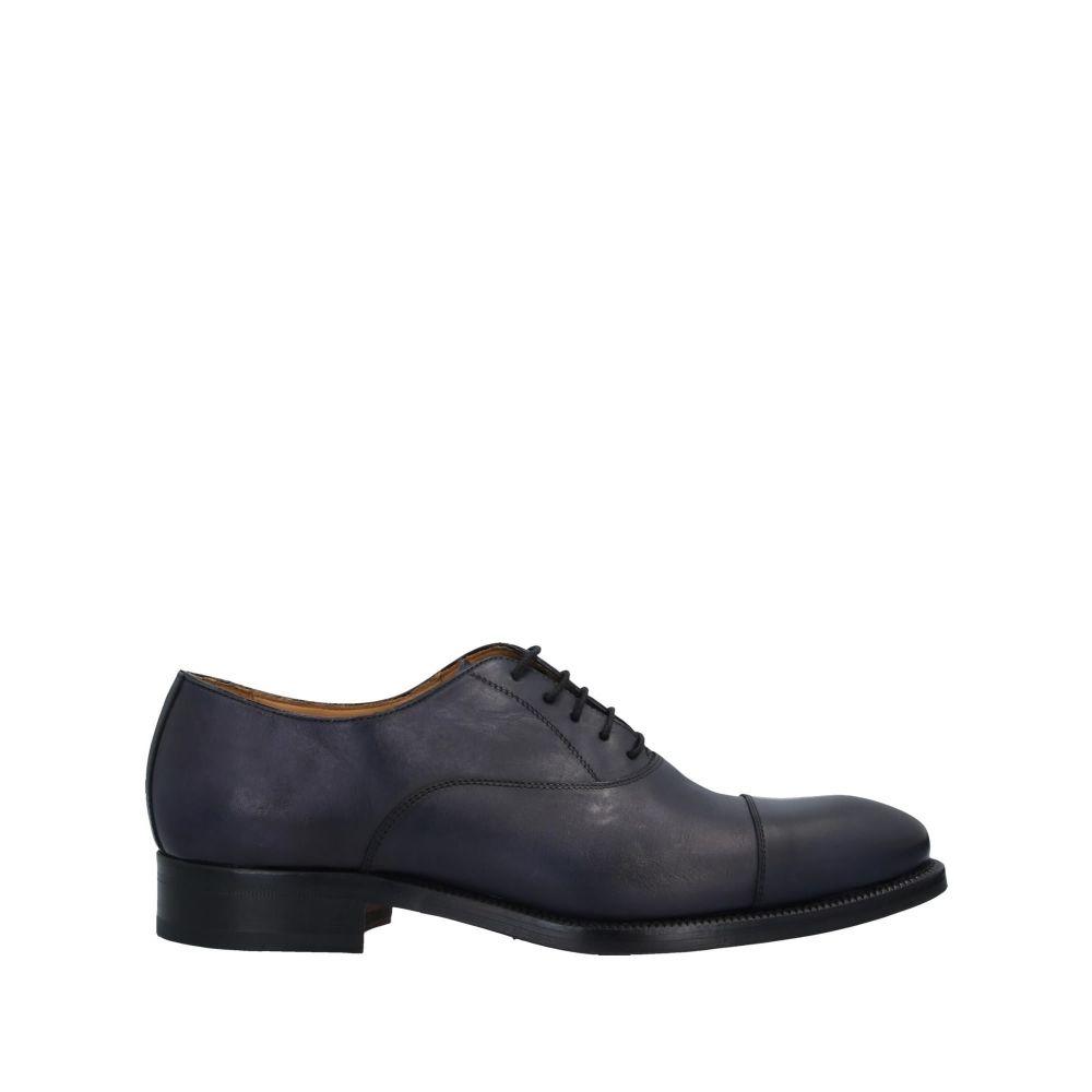 J.J. メンズ シューズ・靴 【laced shoes】Dark blue
