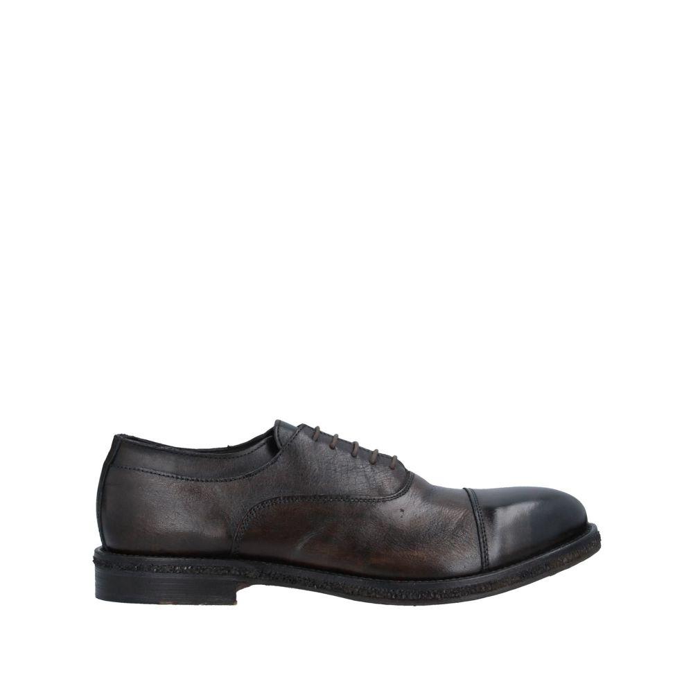 ガッザリーニ GAZZARRINI メンズ シューズ・靴 【laced shoes】Dark brown
