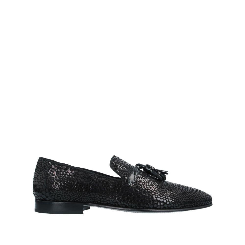 マイケルサイモン メンズ シューズ・靴 ローファー Black 【サイズ交換無料】 マイケルサイモン MICHEL SIMON メンズ ローファー シューズ・靴【loafers】Black