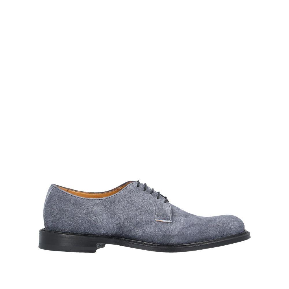 オルティーニ ORTIGNI メンズ シューズ・靴 【laced shoes】Slate blue