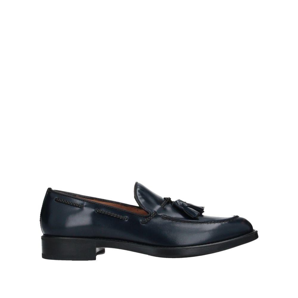 アンティーカ クオイエリア メンズ シューズ・靴 ローファー Blue 【サイズ交換無料】 アンティーカ クオイエリア ANTICA CUOIERIA メンズ ローファー シューズ・靴【loafers】Blue