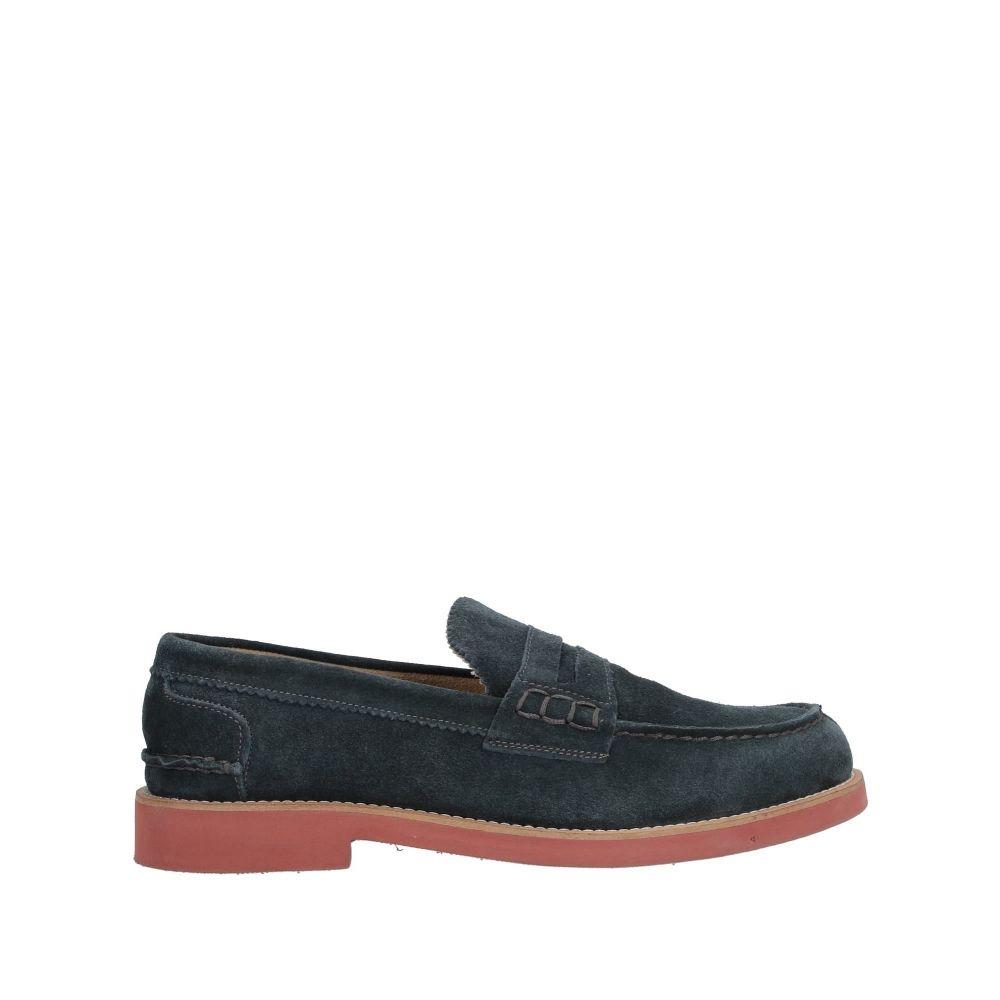MFW コレクション メンズ シューズ・靴 ローファー Dark blue 【サイズ交換無料】 MFW コレクション MFW COLLECTION メンズ ローファー シューズ・靴【loafers】Dark blue