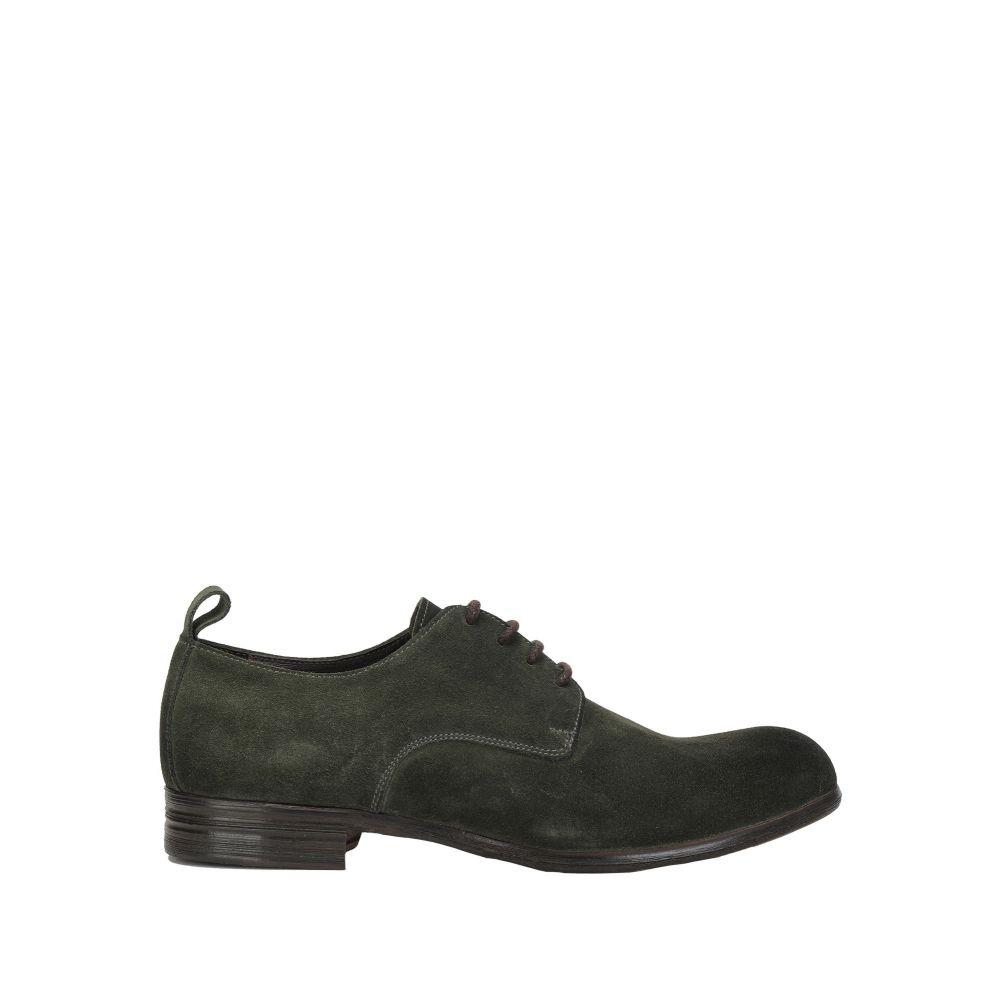 サング SANGUE メンズ シューズ・靴 【laced shoes】Dark green