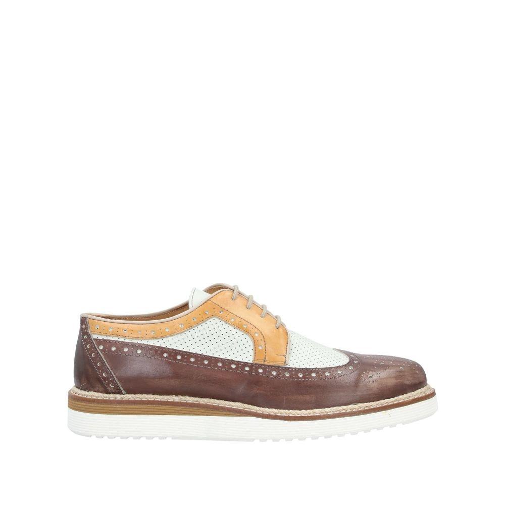 エクストン EXTON メンズ シューズ・靴 【laced shoes】Brown