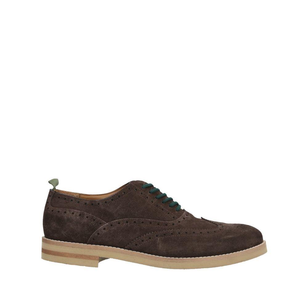 フランコ フェデール FRANCO FEDELE メンズ シューズ・靴 【laced shoes】Dark brown