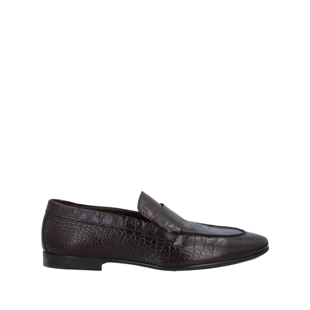 MFW コレクション メンズ シューズ・靴 ローファー Dark brown 【サイズ交換無料】 MFW コレクション MFW COLLECTION メンズ ローファー シューズ・靴【loafers】Dark brown