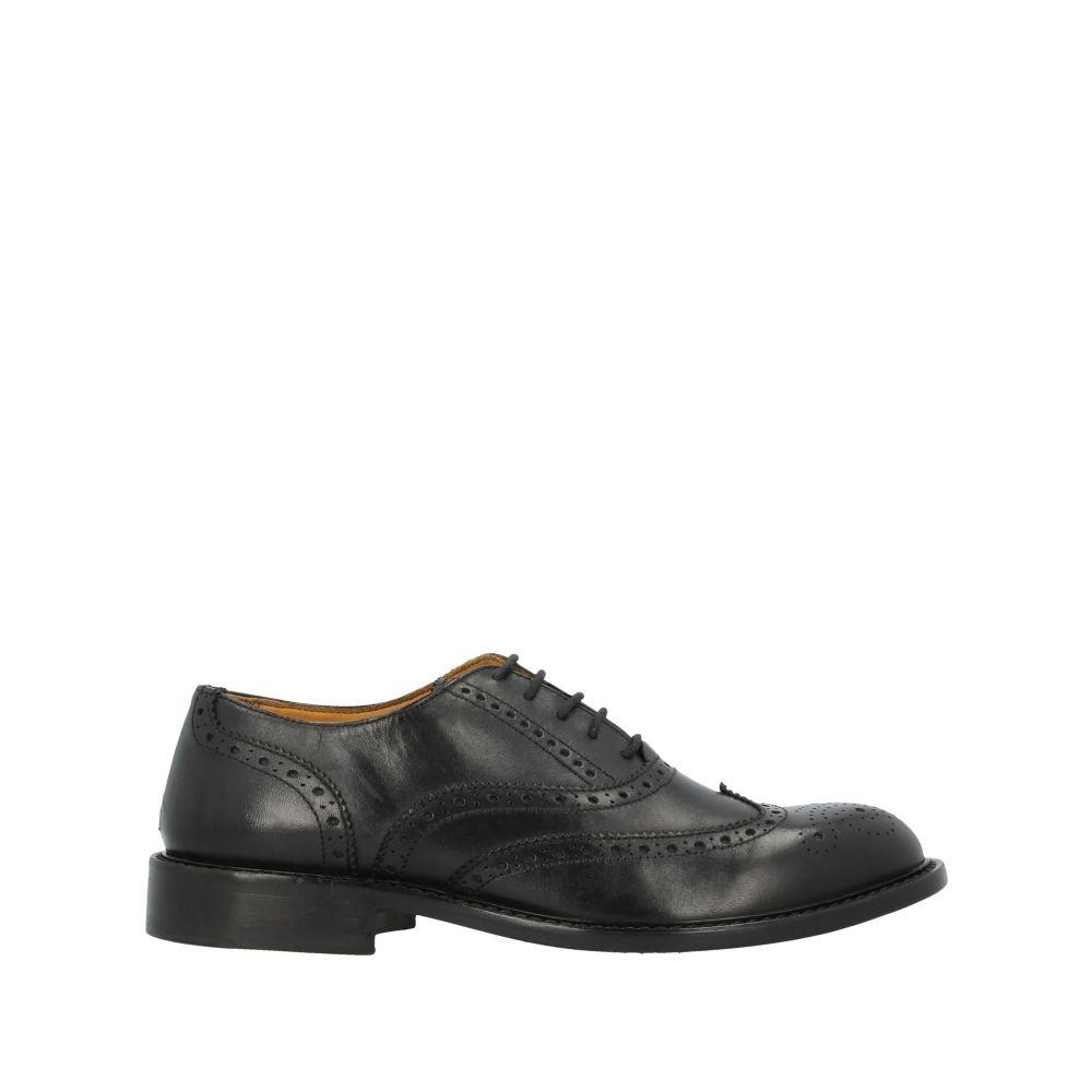マルクエデルソン MARC EDELSON メンズ シューズ・靴 【laced shoes】Black