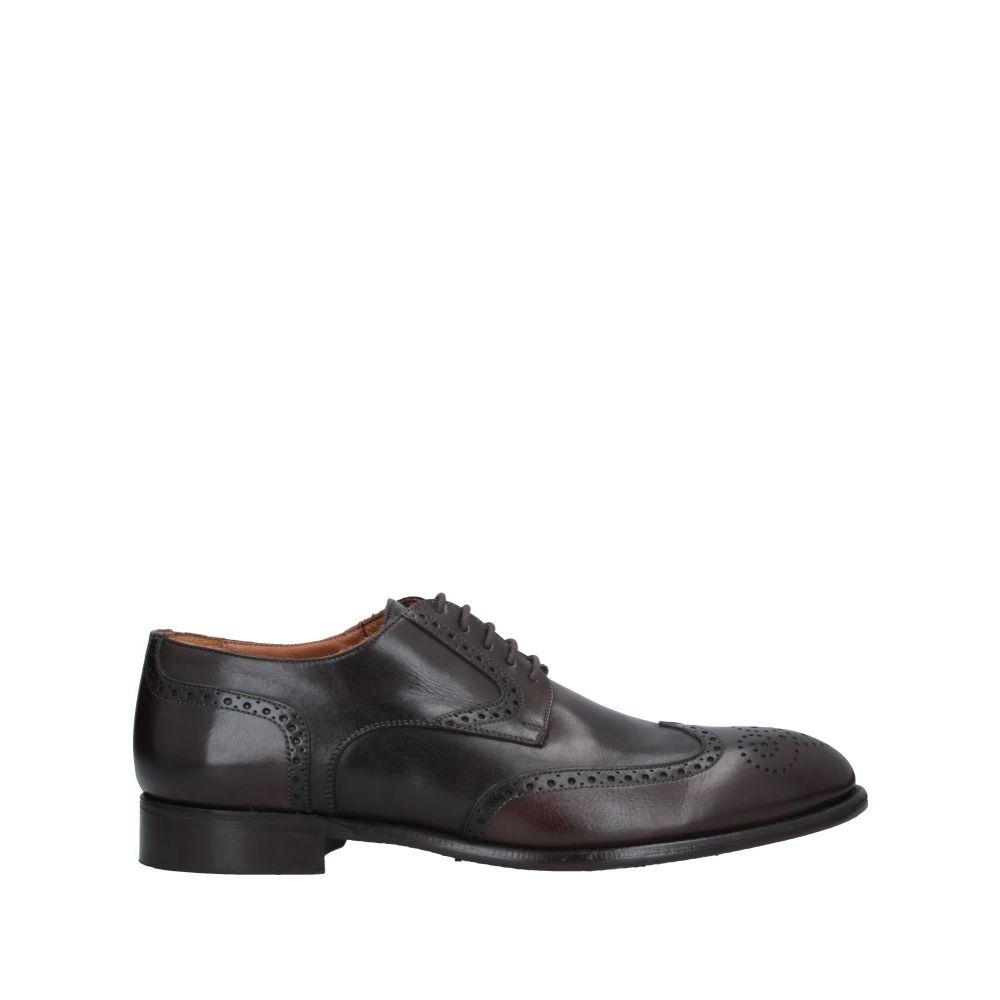 ジェイピーデビッド JP/DAVID メンズ シューズ・靴 【laced shoes】Dark brown