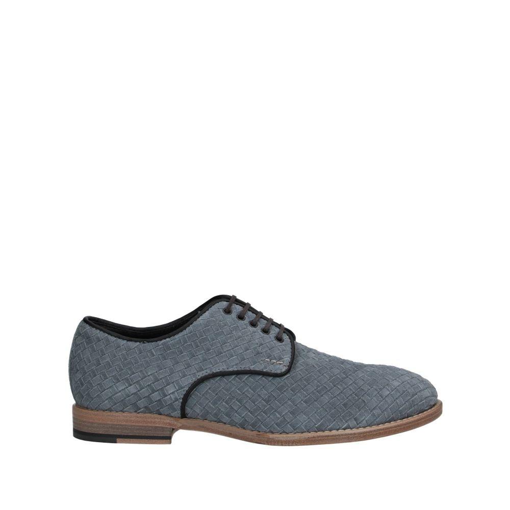 ローホワイト LO.WHITE メンズ シューズ・靴 【laced shoes】Pastel blue