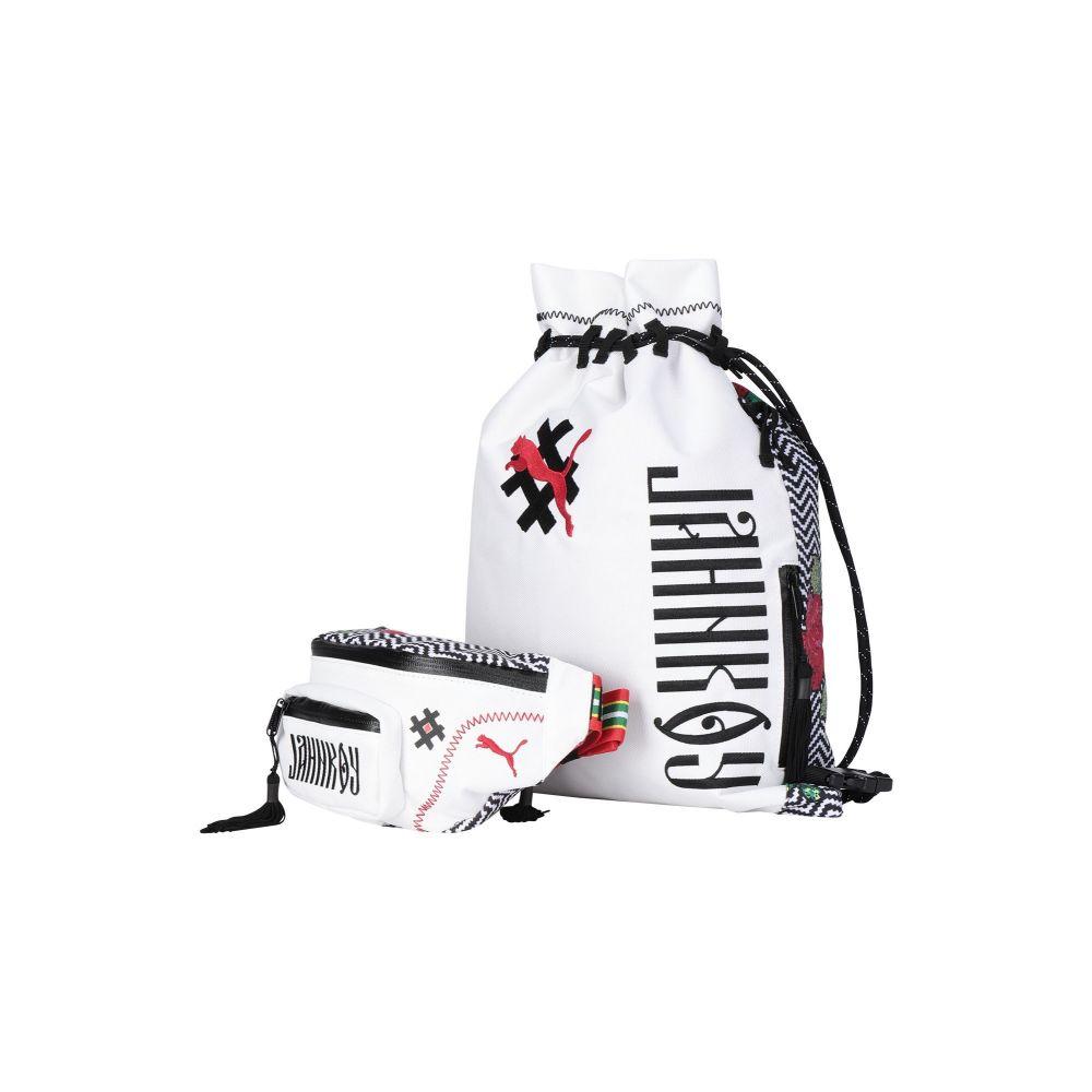 プーマ PUMA x JAHNKOY メンズ バックパック・リュック バッグ【x jahnkoy backpack】White