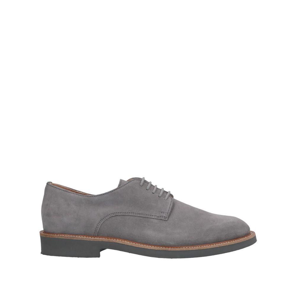 フラウ FRAU メンズ シューズ・靴 【laced shoes】Grey