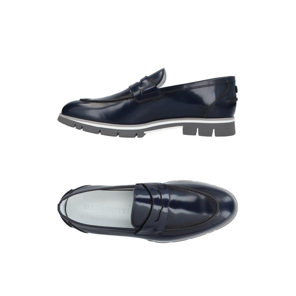 バレット メンズ シューズ・靴 ローファー Blue 【サイズ交換無料】 バレット BLU|BARRETT by BARRETT メンズ ローファー シューズ・靴【loafers】Blue