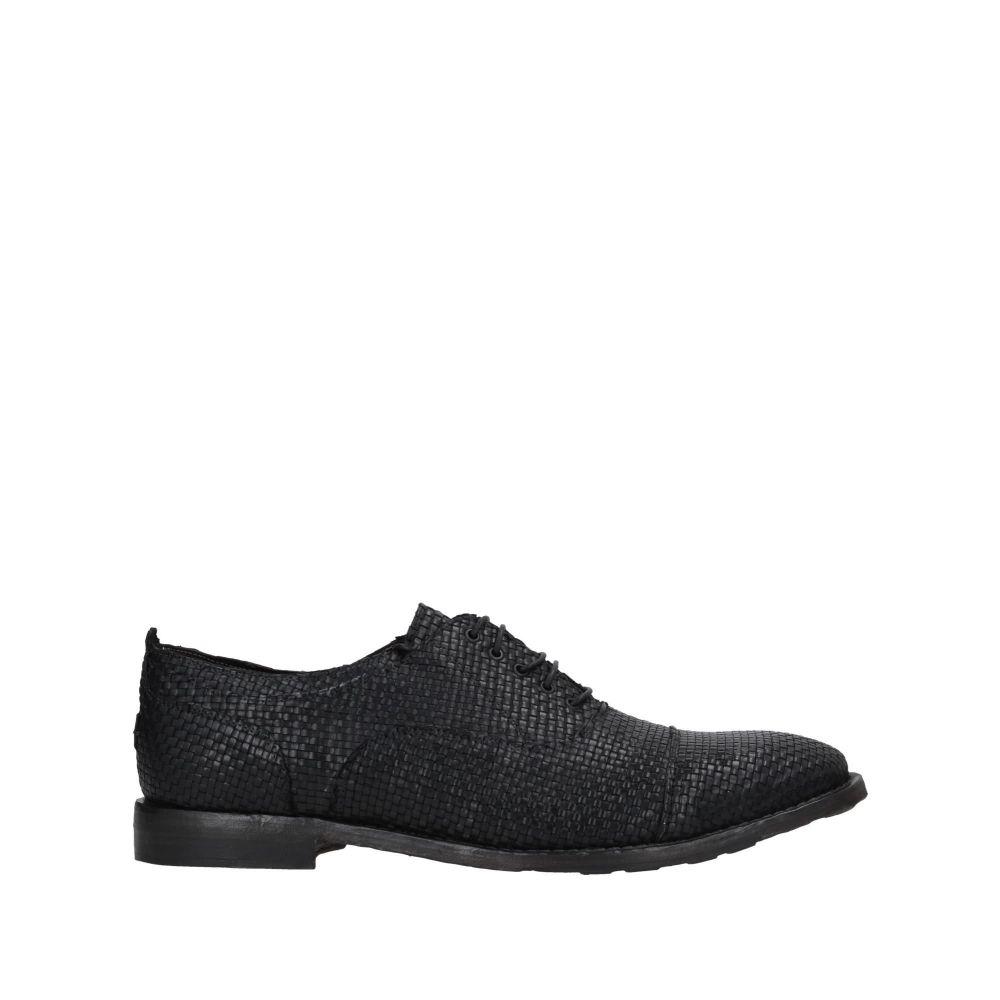 LE RUEMARCEL メンズ シューズ・靴 【laced shoes】Black