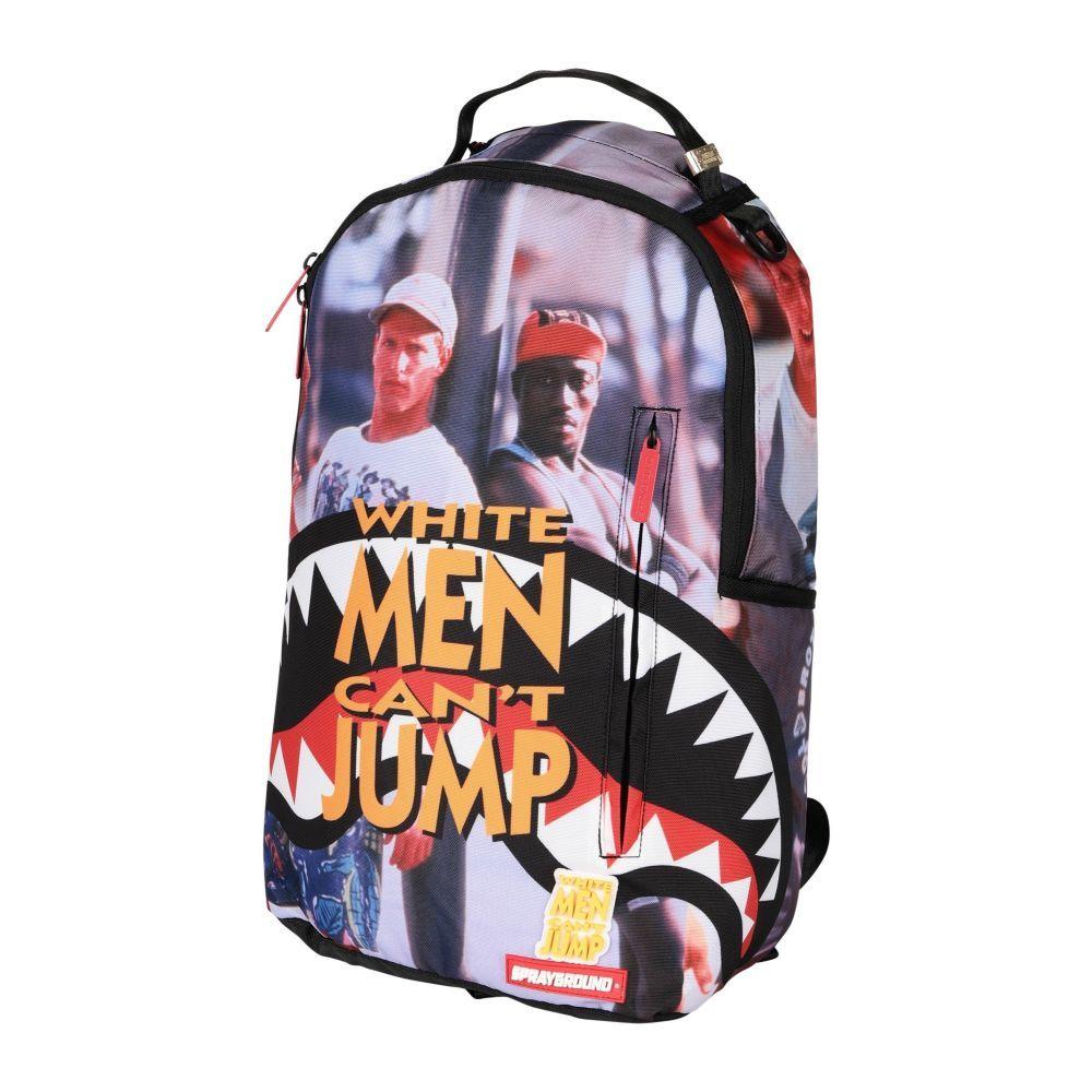 スプレイグラウンド SPRAYGROUND メンズ バックパック・リュック バッグ【can't jump backpack】Orange