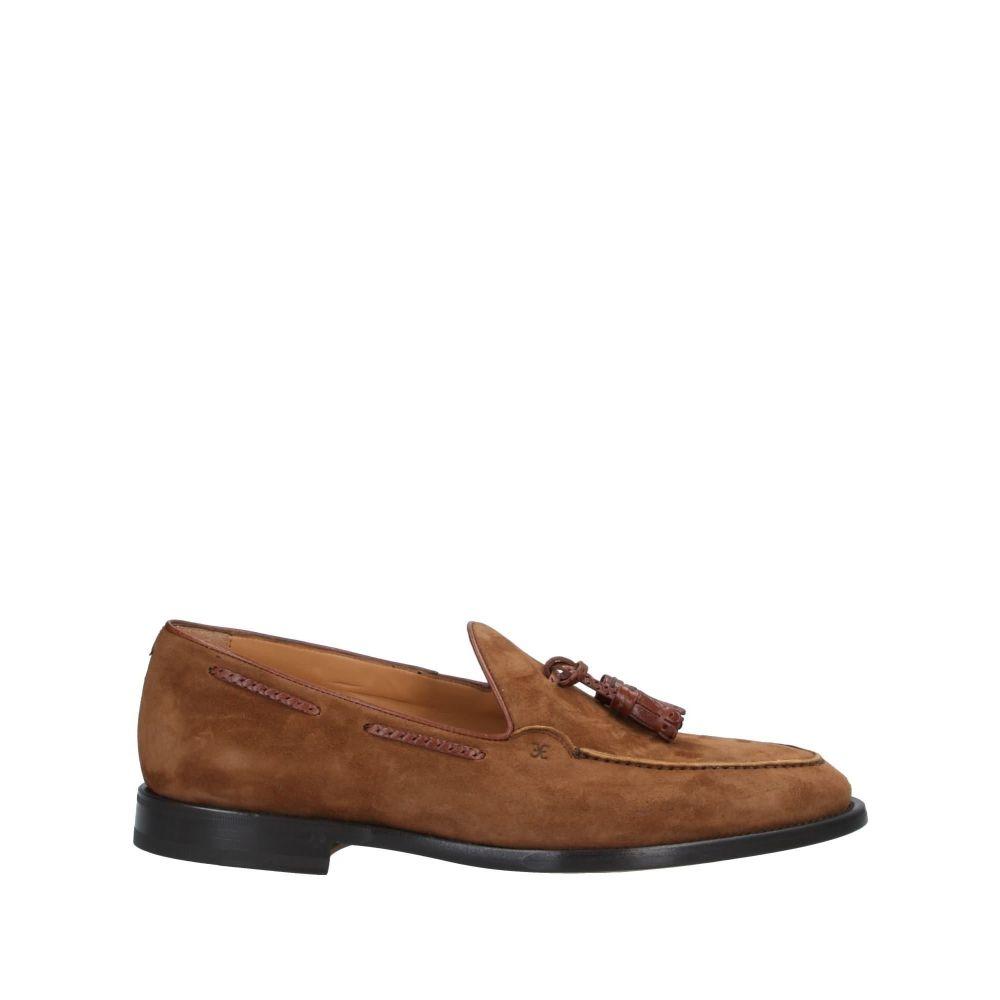 ファビ メンズ シューズ・靴 ローファー Camel 【サイズ交換無料】 ファビ FABI メンズ ローファー シューズ・靴【loafers】Camel