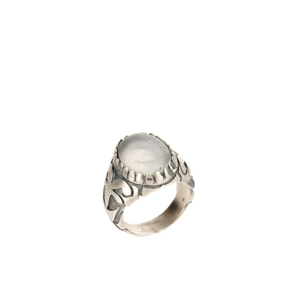 マリアーノ ィ ヴァイオ MARIANO DI VAIO メンズ 指輪・リング ジュエリー・アクセサリー【fleur-de-lies university ring first people first ring】Silver