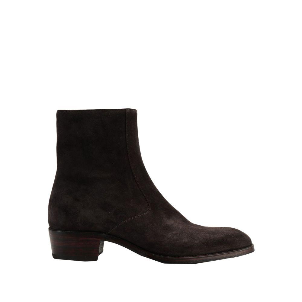 エルヴェ HERVE' メンズ ブーツ シューズ・靴【germ boots】Dark brown