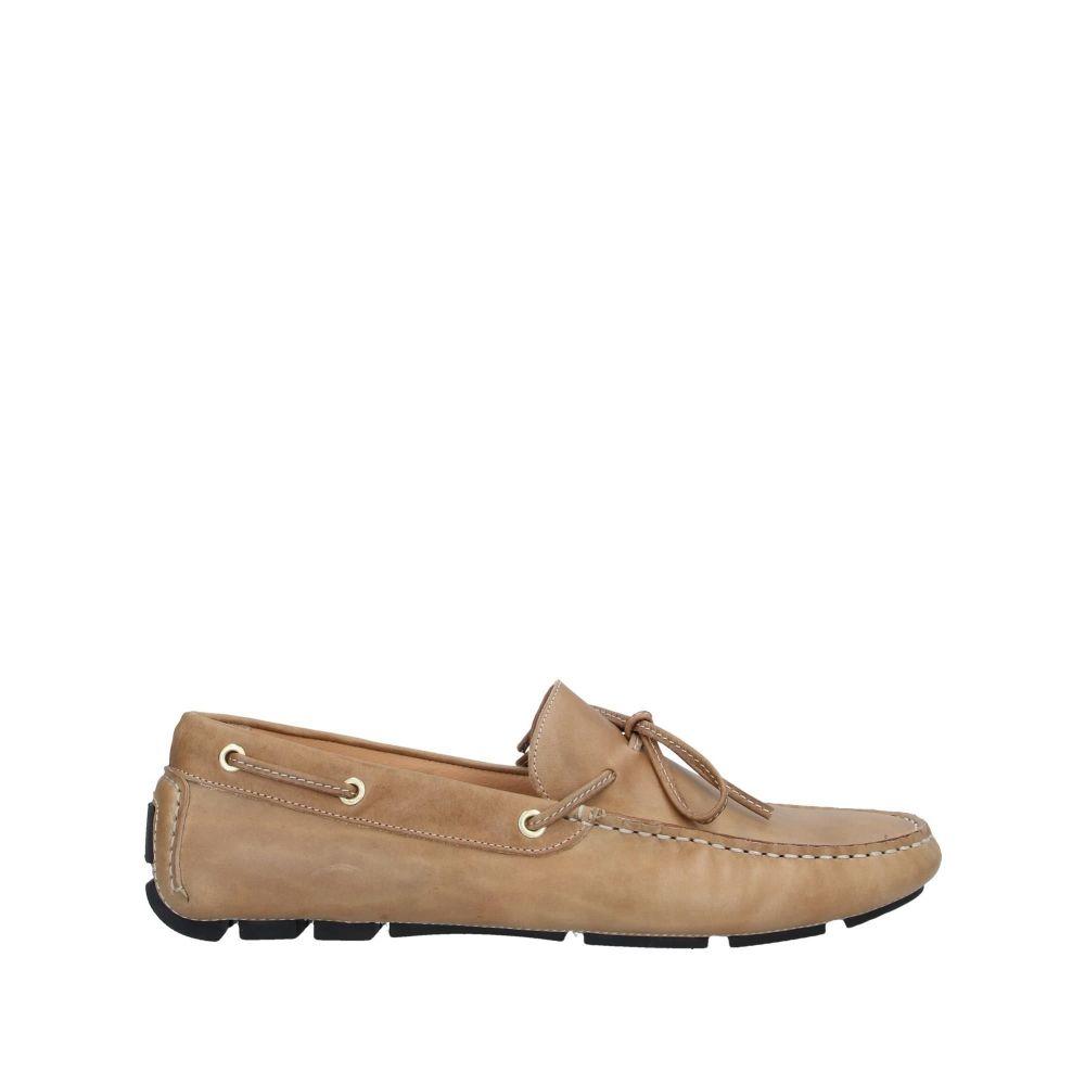 ボエモス メンズ シューズ・靴 ローファー Camel 【サイズ交換無料】 ボエモス BOEMOS メンズ ローファー シューズ・靴【loafers】Camel