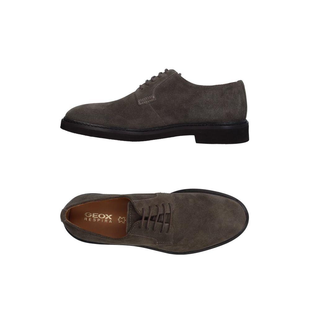 ジェオックス GEOX メンズ シューズ・靴 【laced shoes】Grey