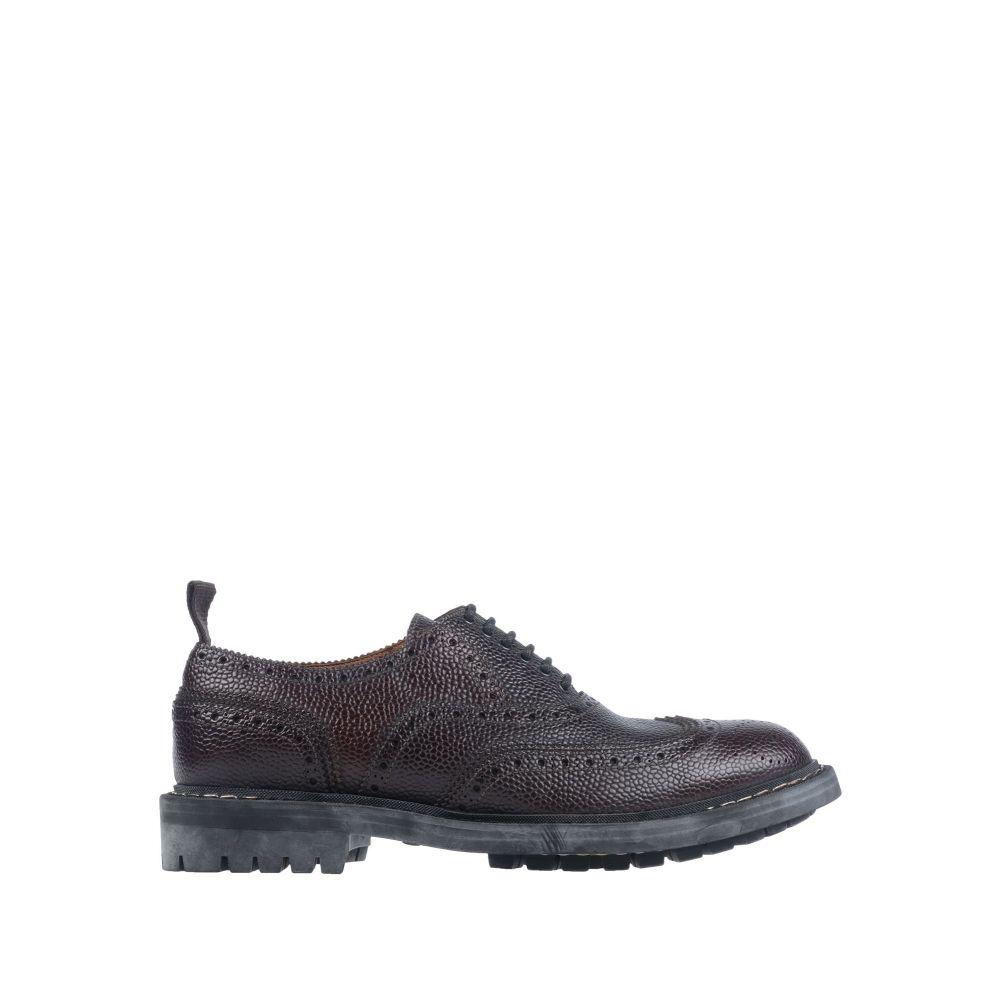 ジバンシー GIVENCHY メンズ シューズ・靴 【laced shoes】Dark brown