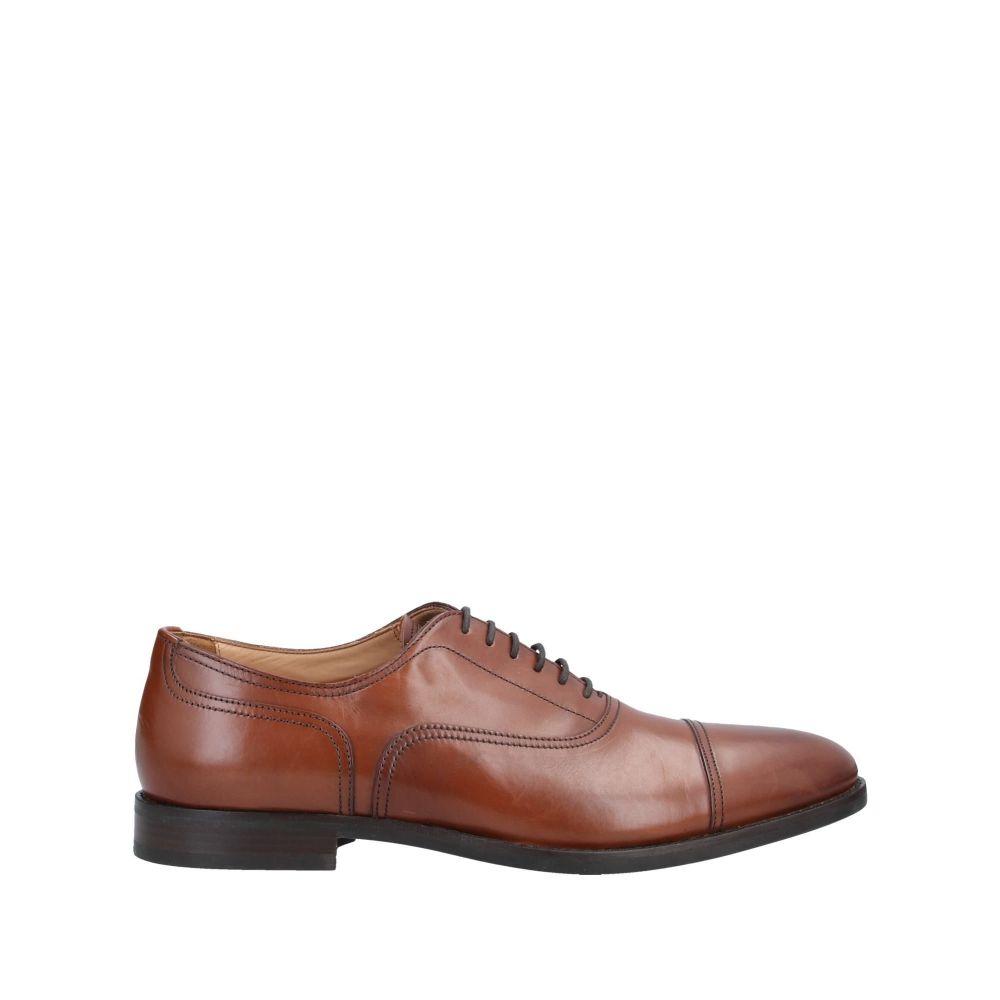 ジェオックス GEOX メンズ シューズ・靴 【laced shoes】Brown