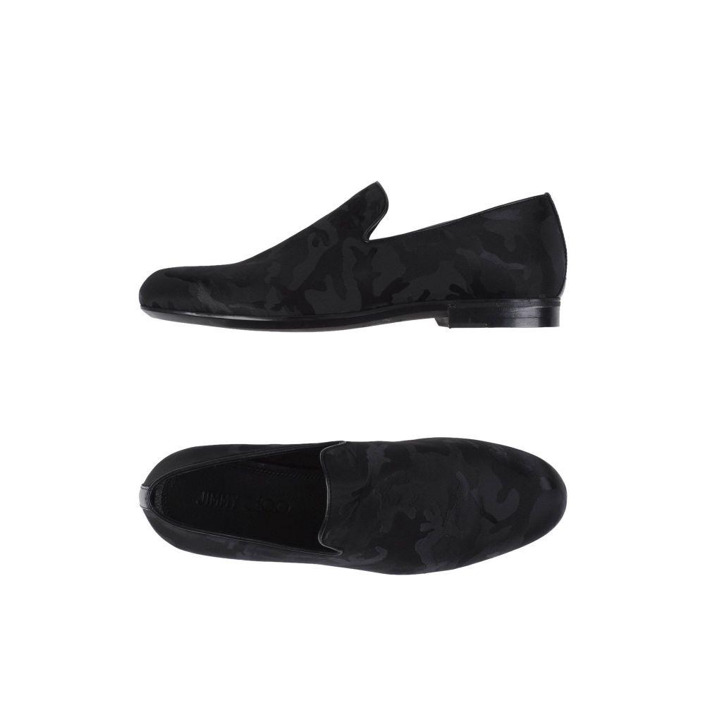 ジミー チュウ JIMMY CHOO メンズ ローファー シューズ・靴【loafers】Black