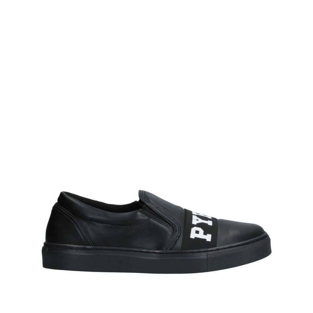 美品  パイレックス PYREX メンズ スニーカー シューズ・靴【sneakers】Black, 不老庵 dfb47a88