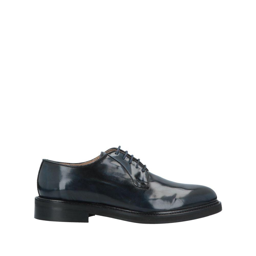 ドメニコ タリエンテ DOMENICO TAGLIENTE メンズ シューズ・靴 【laced shoes】Dark blue