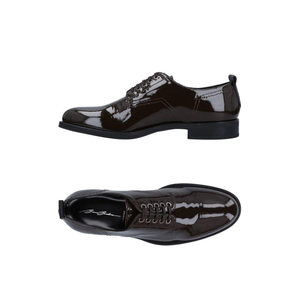 ブルーノ ボルデーゼ BRUNO BORDESE メンズ シューズ・靴 【laced shoes】Dark brown