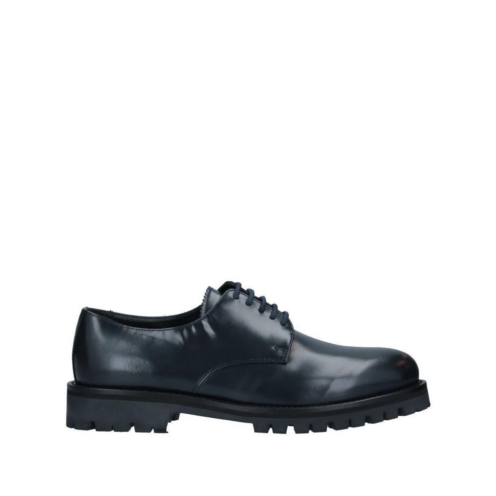 アンドレア モレリ ANDREA MORELLI メンズ シューズ・靴 【laced shoes】Dark blue