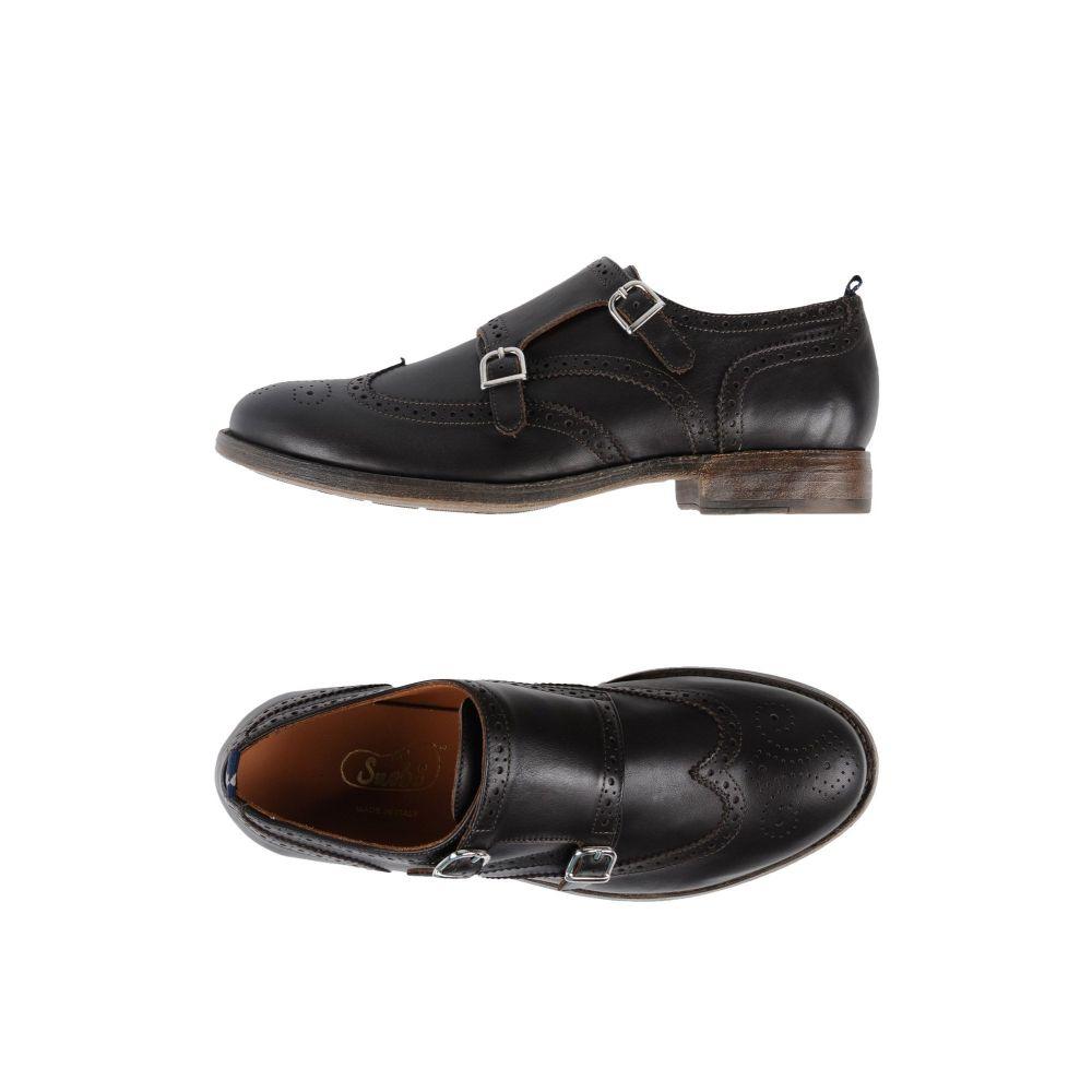 スノッブス メンズ シューズ・靴 ローファー Dark brown 【サイズ交換無料】 スノッブス SNOBS メンズ ローファー シューズ・靴【loafers】Dark brown