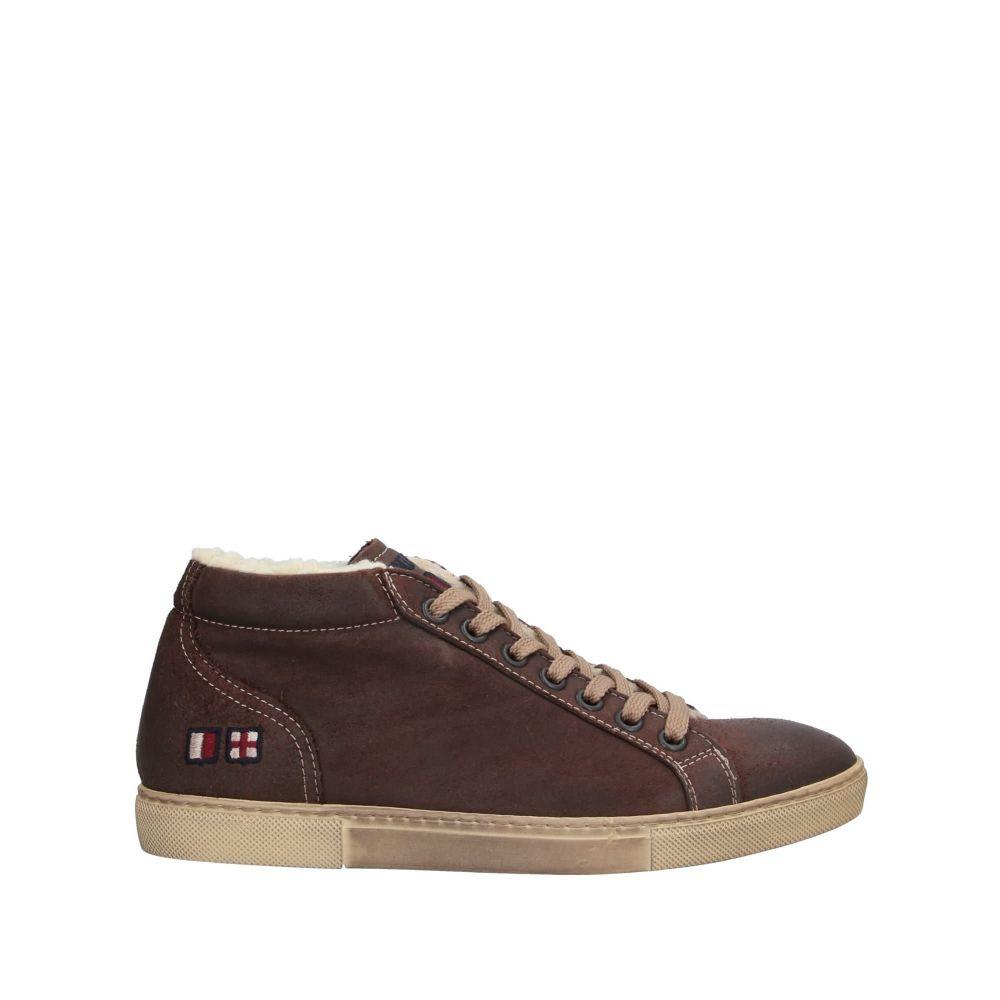 ディ アクアスパルタ DACQUASPARTA メンズ スニーカー シューズ・靴【sneakers】Dark brown