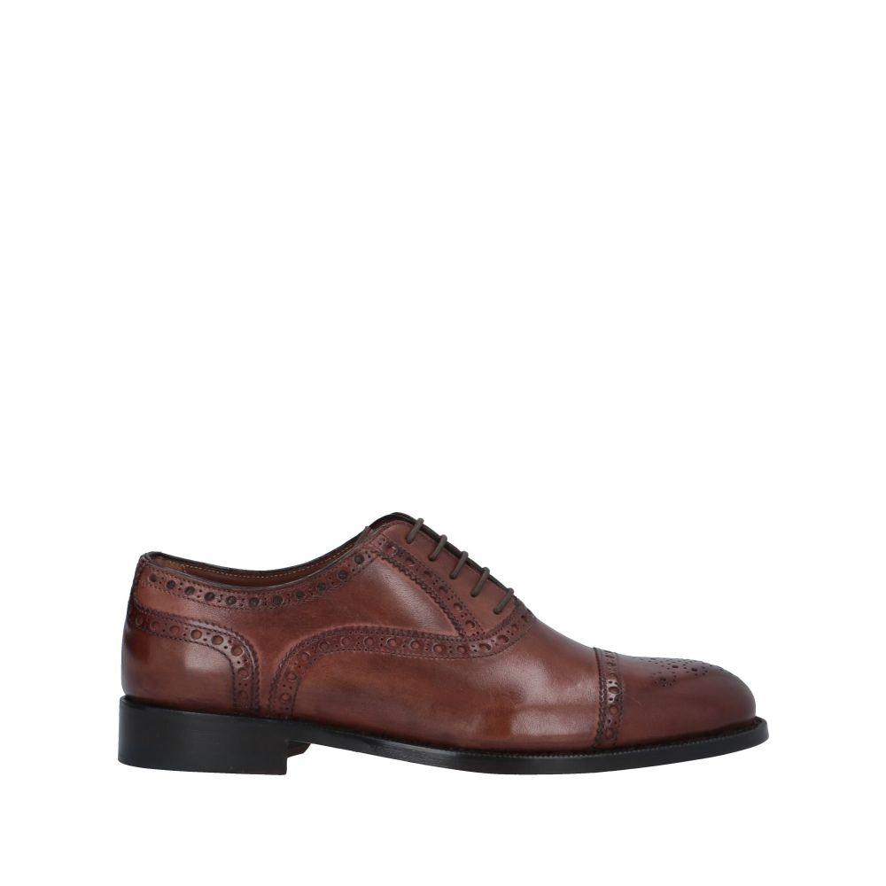 アレクサンダートレンド ALEXANDER TREND メンズ シューズ・靴 【laced shoes】Brown