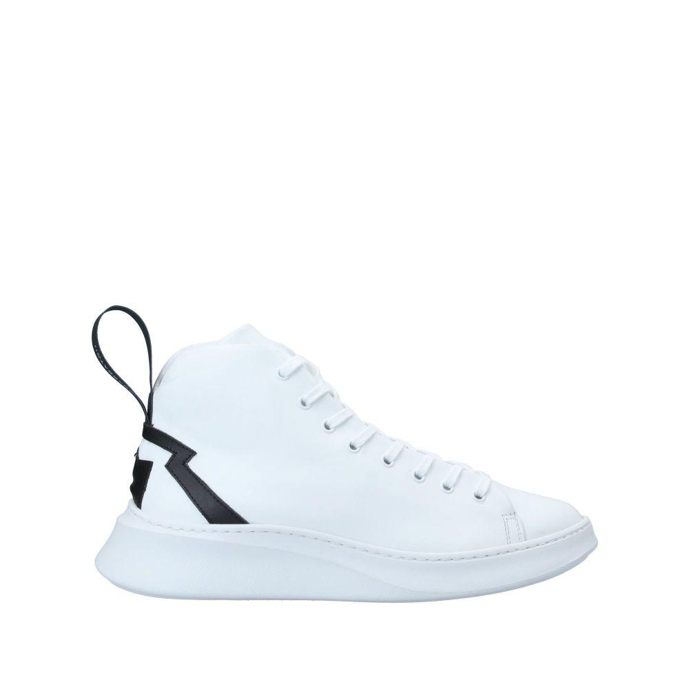サヴィオバルバト SAVIO BARBATO メンズ スニーカー シューズ・靴【sneakers】White